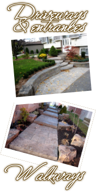 Acer Landscapes -  Driveways, entrances, and walkways
